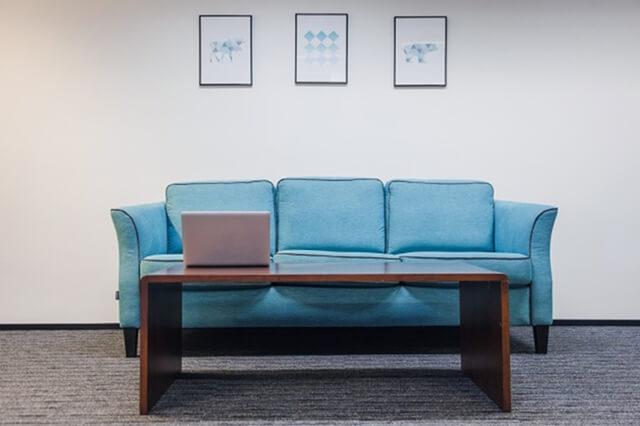 استفاده از موکت در اتاق انتظار فضای اداری | زت کارپت