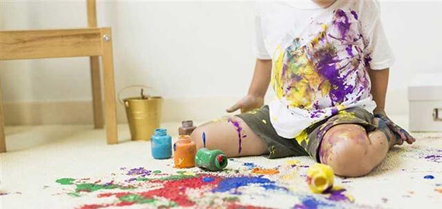 اهمیت رنگ موکت اتاق کودک | زت کارپت
