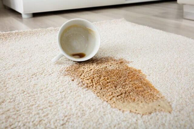 پاک کردن لکه قهوه و چای از روی موکت | شرکت زت کارپت