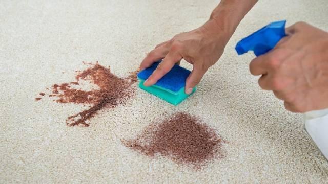 نحوه پاک کردن لکه ازموکت | زت کارپت